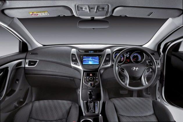 Interior New Hyundai Elantra Facelift