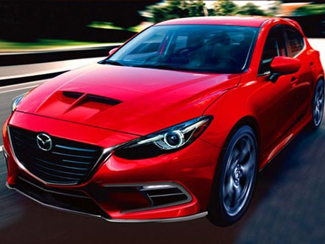 Mazdaspeed 3 Illustration Front