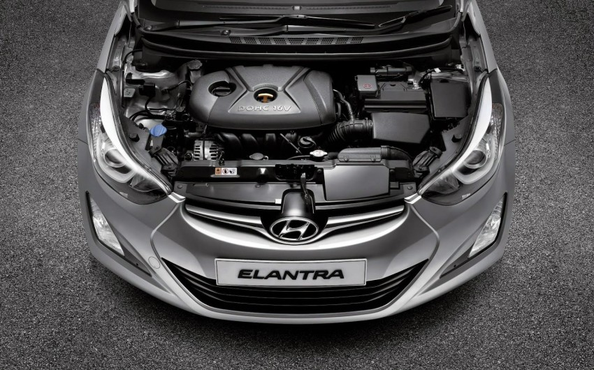 Mesin New Hyundai Elantra Facelift
