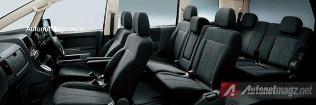 Mitsubishi Delica D5 Black Interior