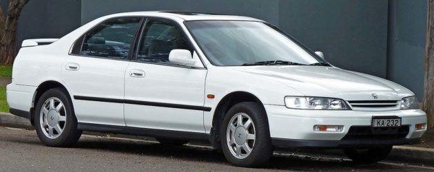 Mobil yang sering banyak dicuri di Amerika Honda Accord tahun 1996
