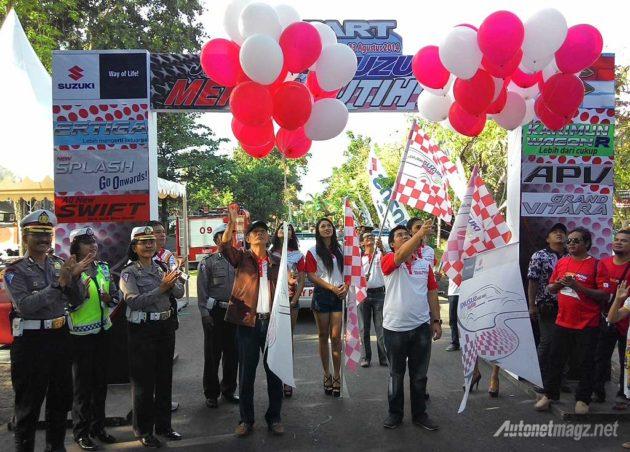 Pembukaan acara Suzuki Jalan Jalan Merah Putih 2014 di Bali