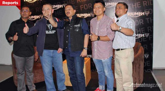 Petinggi dan pimpinan bos Triumph Indonesia