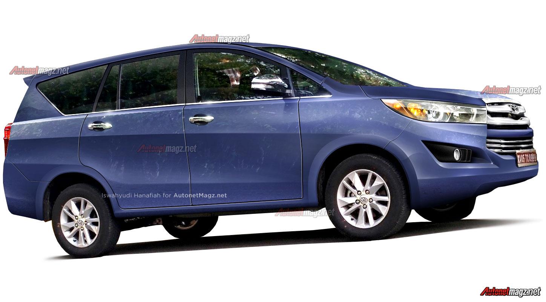 Toyota Kijang Innova 2015 – 2016: Ini Prediksi Render Toyota Innova