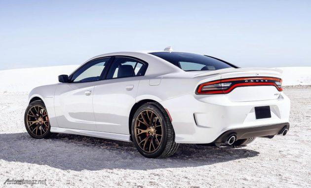 Wallpaper sedan Dodge paling cepat dan bertenaga Charger SRT Hellcat
