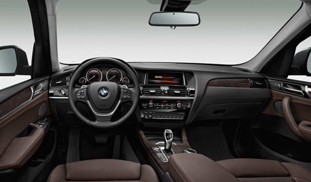 2015 BMW X3 Interior With Brown Accent