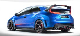 2015 Honda Civic Type R Rear Difusser