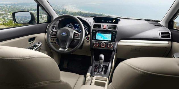 2015 Subaru Impreza Facelift Interior