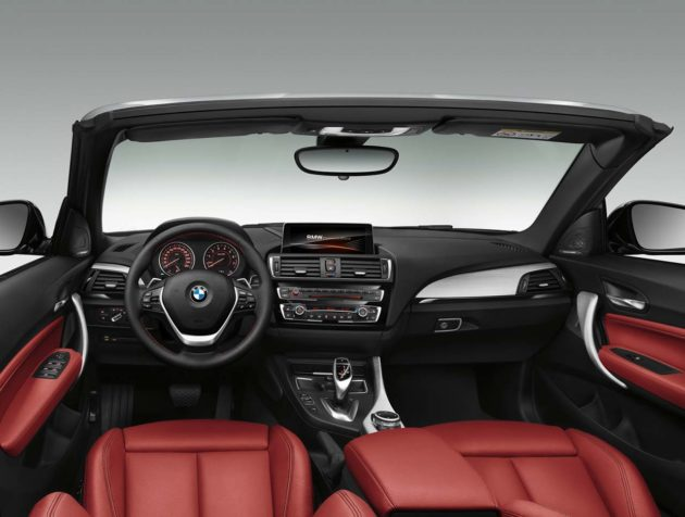 BMW-2-Series-Convertible-Red-Interior