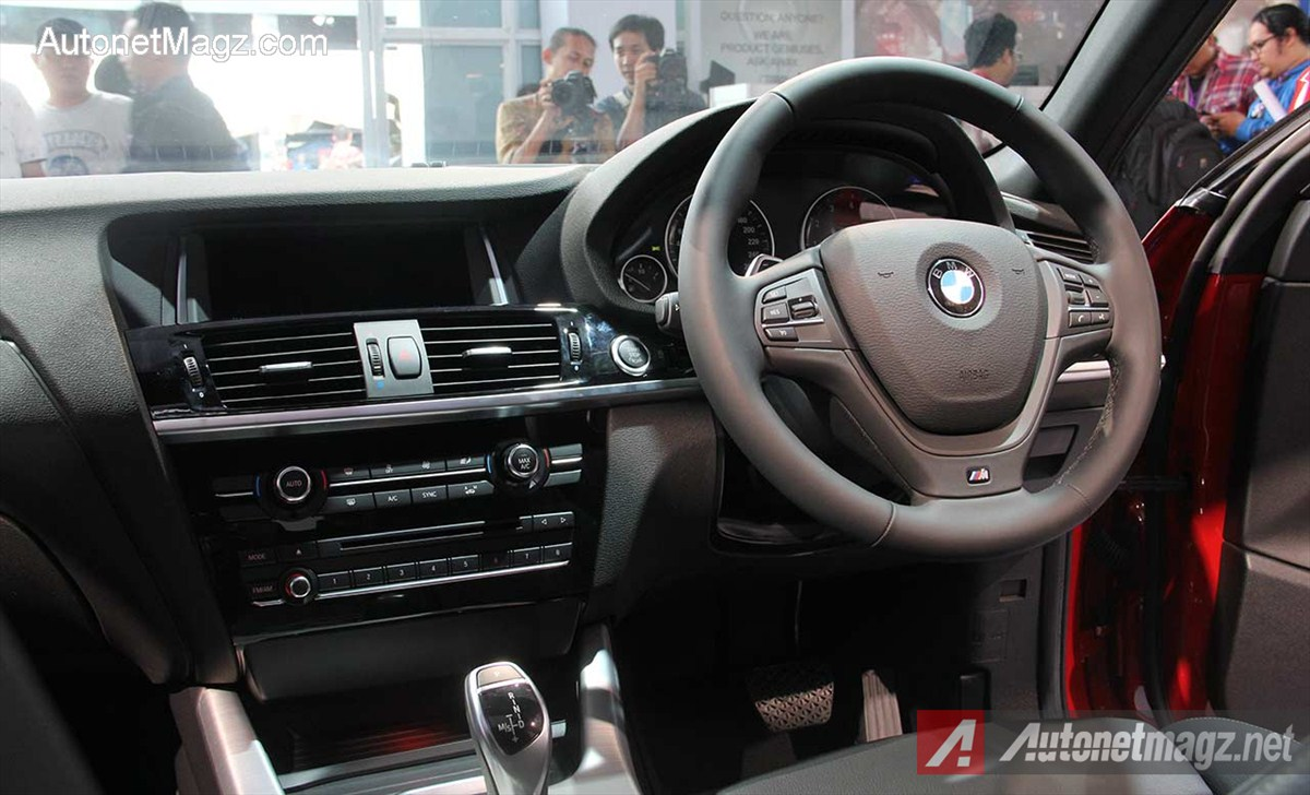 Bmw X4 Indonesia Dashboard Autonetmagz Review Mobil