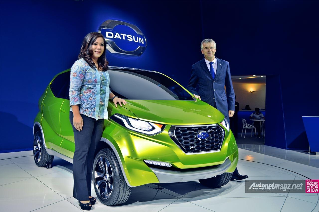 Datsun Pajang GO Panca Modifikasi dan redi-GO di IIMS 2014