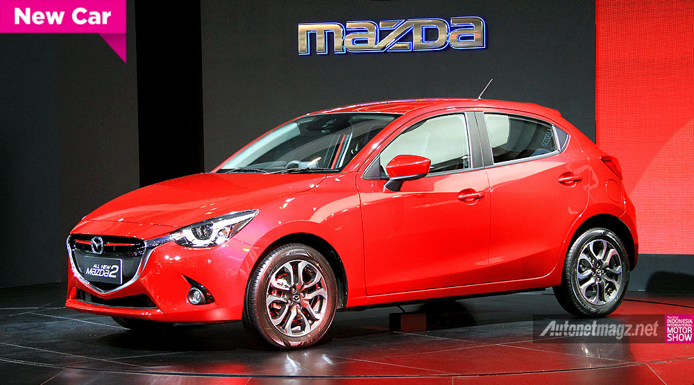 exclusive first impression review mazda 2 skyactiv 2015. Black Bedroom Furniture Sets. Home Design Ideas