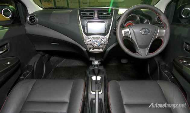 Interior Perodua Axia Advance SE