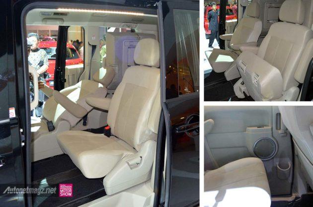 Jok model captain seat Mitsubishi Delica