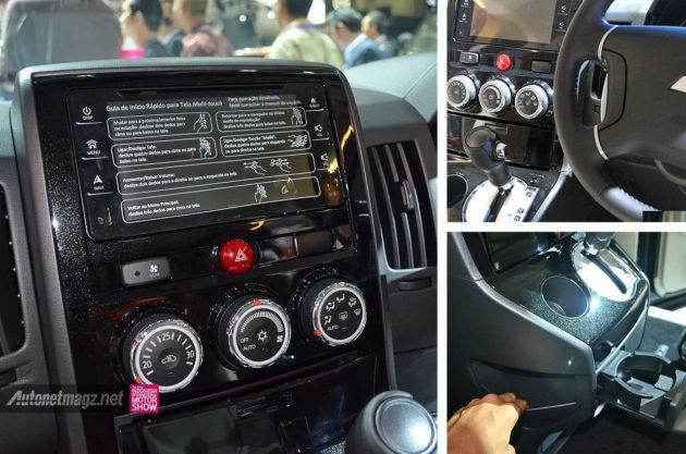 Kelengkapan akomodasi kabin Mitsubishi Delica