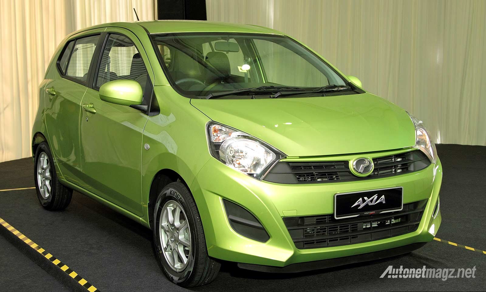 Kembaran Daihatsu Ayla Toyota Agya Perodua Axia dari Malaysia