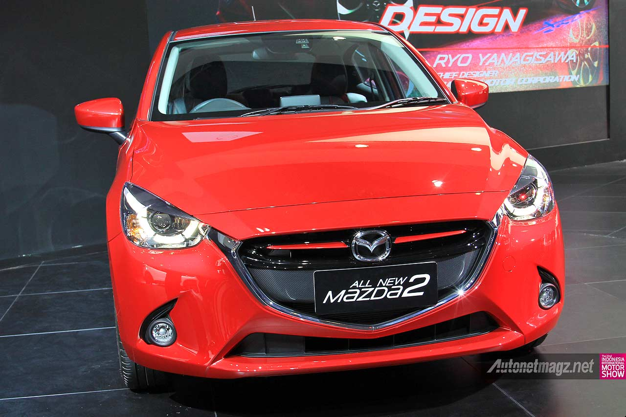 mazda 2 baru skyactiv 2014 indonesia di iims 2014. Black Bedroom Furniture Sets. Home Design Ideas