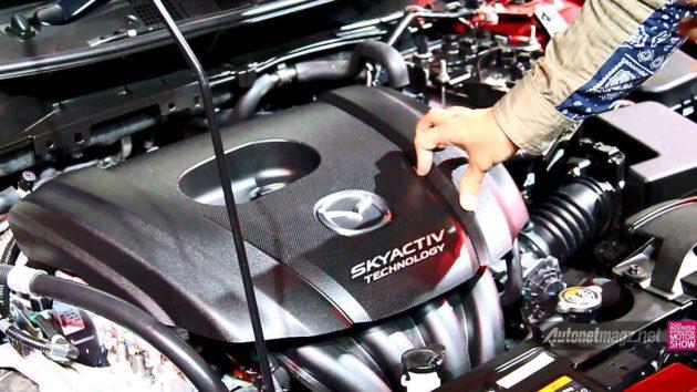 Mesin Mazda 2 SkyActiv baru 2015 Indonesia