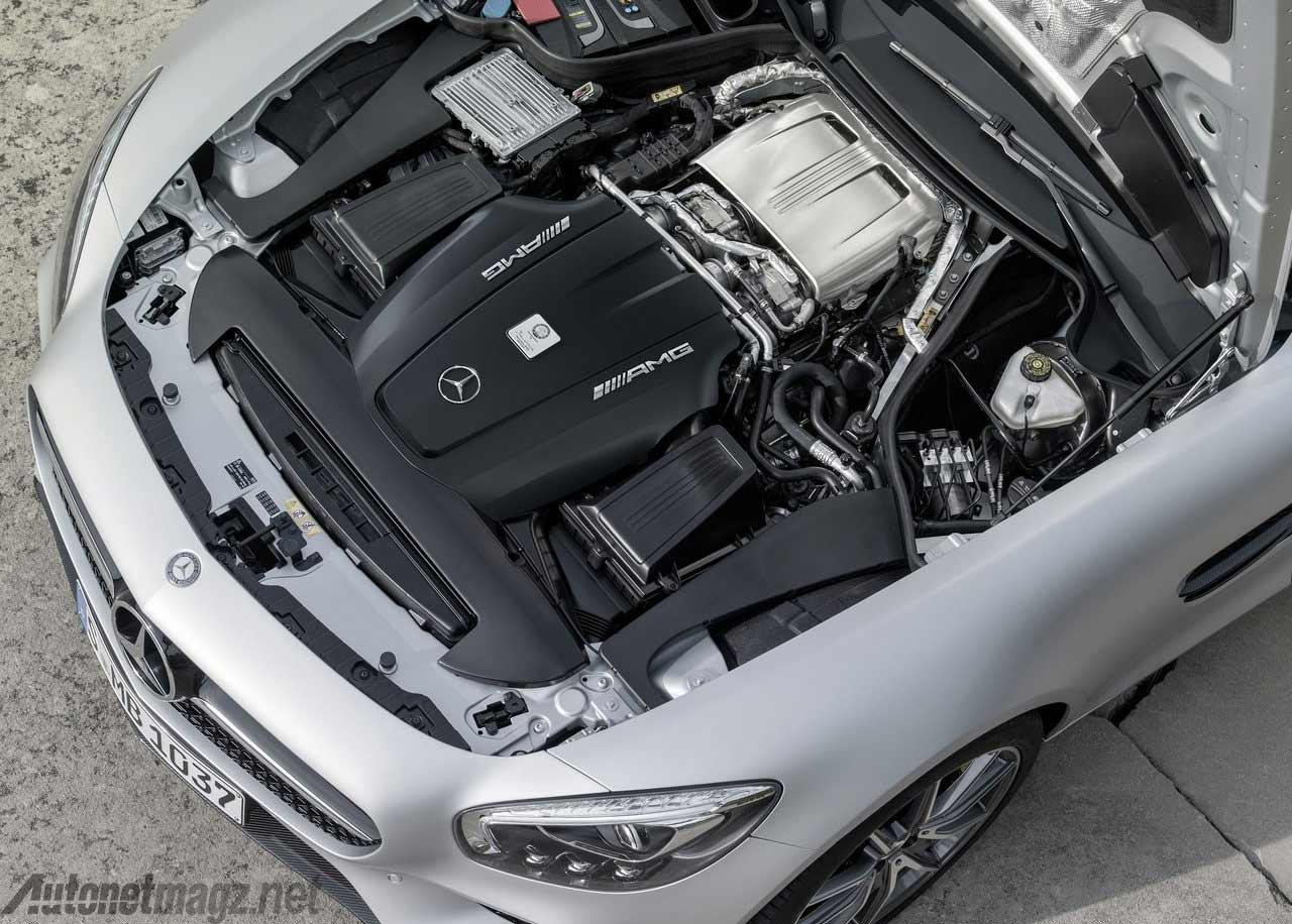 Mesin Mercedes Benz AMG GT
