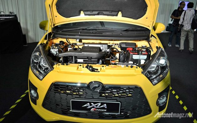 Mesin Perodua Axia Advance SE engine