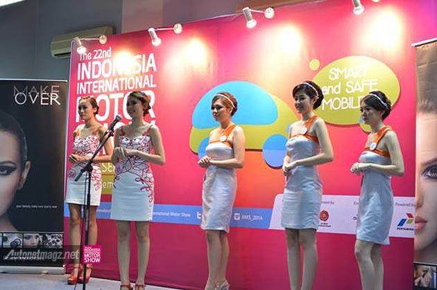 Miss Motor Show 2014 SPG IIMS