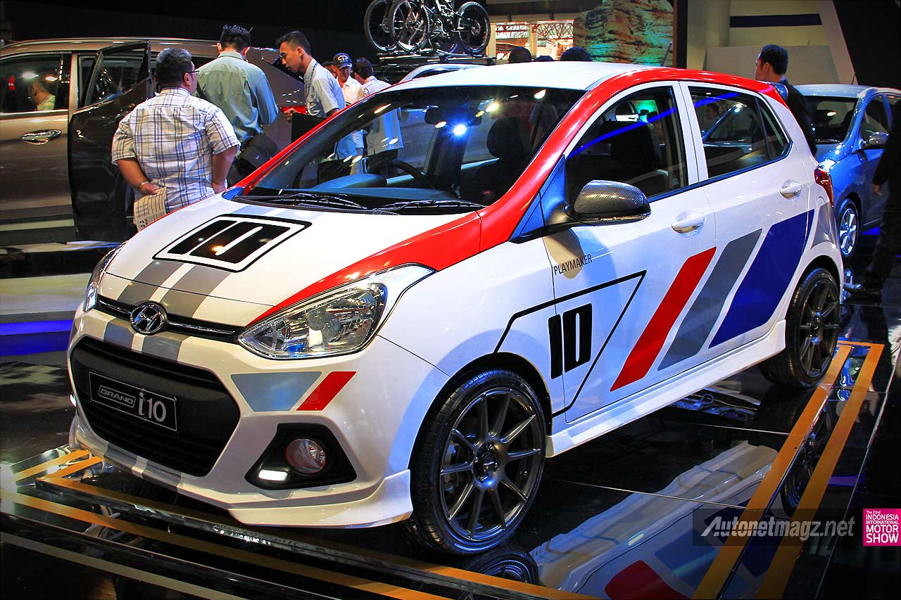 Modifikasi Hyundai Grand i10 di IIMS 2014