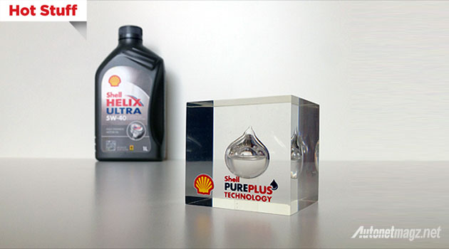Oli Shell baru PurePlus Technology