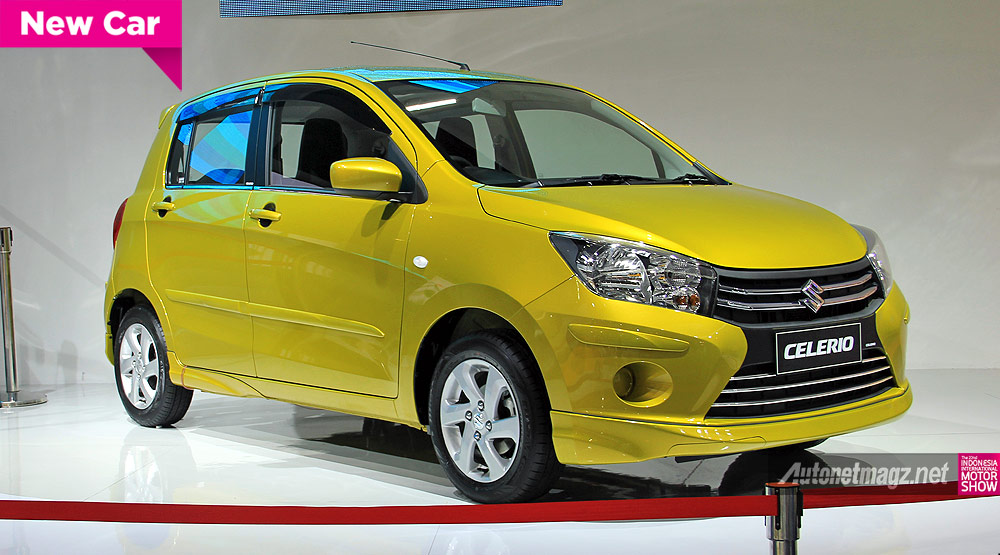Review city car baru Suzuki Celerio 2015