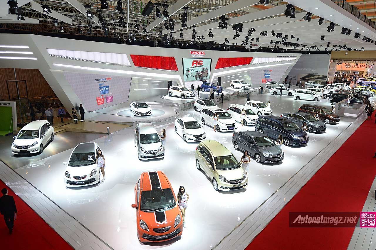 Stand booth Honda Indonesia di IIMS 2014