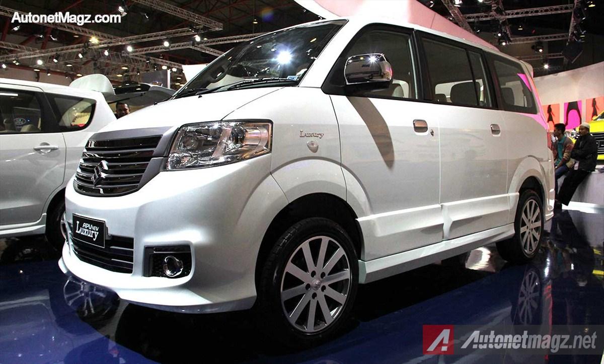 Suzuki APV Luxury 2014 V.2 Hadir Di IIMS 2014