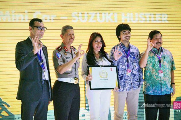 Suzuki Indonesia mendapat penghargaan di IIMS 2014