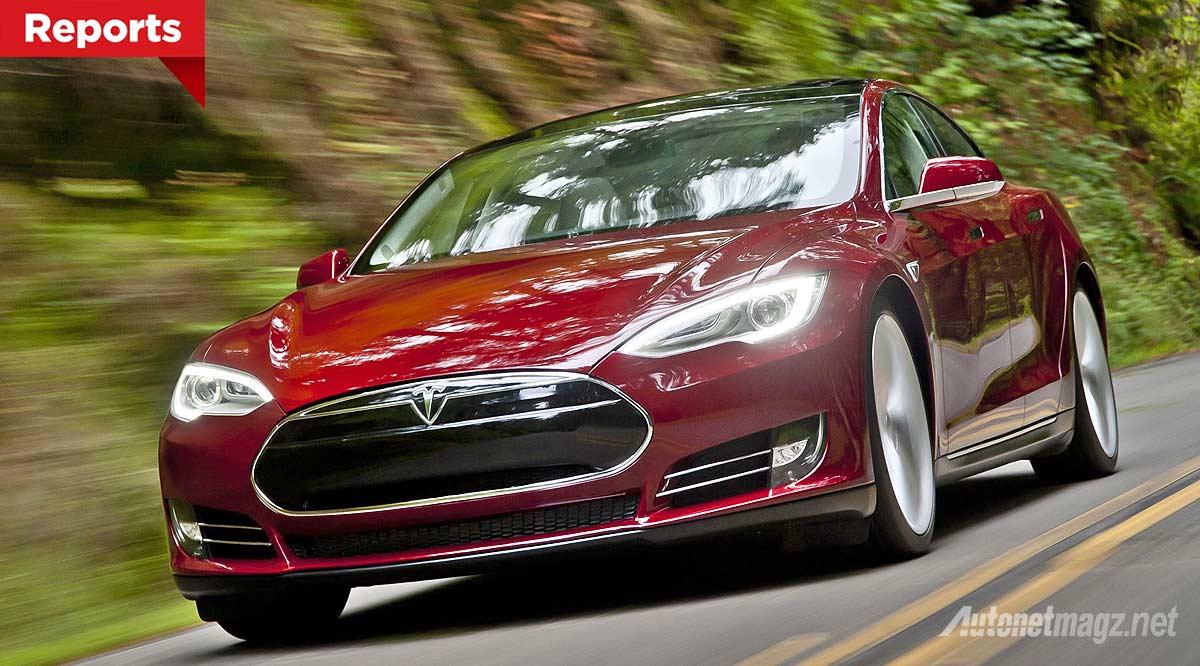 Tesla Model S mobil paling aman jarang dicuri