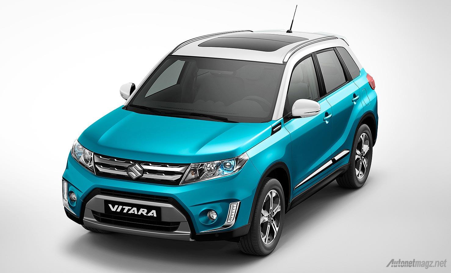 Bentuk desain Suzuki Vitara baru 2015