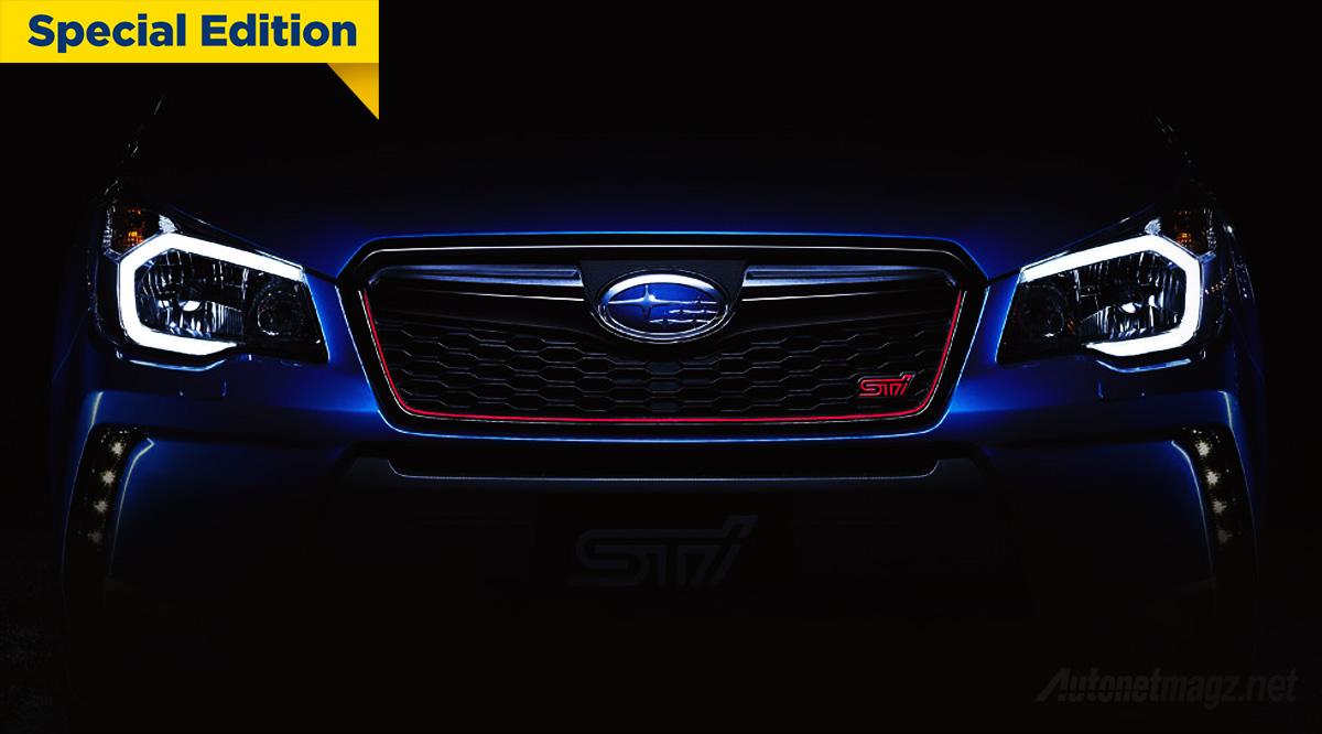 Berita, Cover-Teaser-Subaru-Forester-STI: Subaru Rilis Teaser Forester STI, SUV Kencang dari Jepang