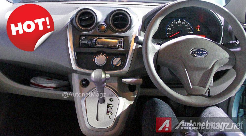 Wow, Datsun GO Panca Akan Punya Transmisi Matic! - AutonetMagz