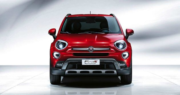 Fiat 500X Indonesia Front View
