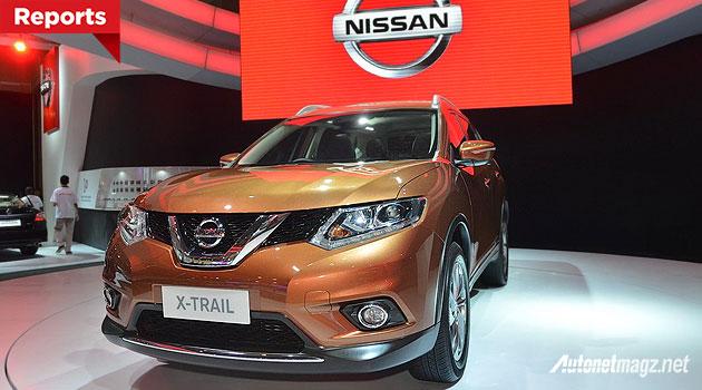 Harga Nissan X-trail baru All New 2015