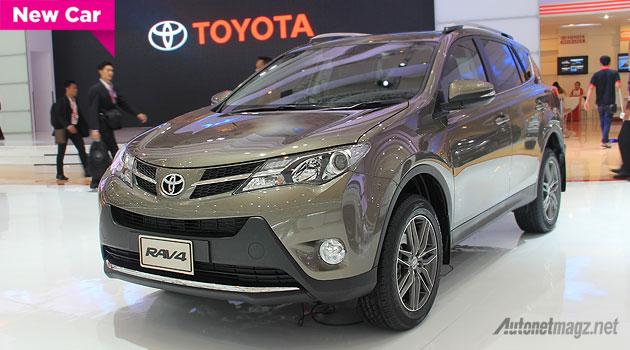 Harga Toyota RAV4 Indonesia SUV RAV-4 2015