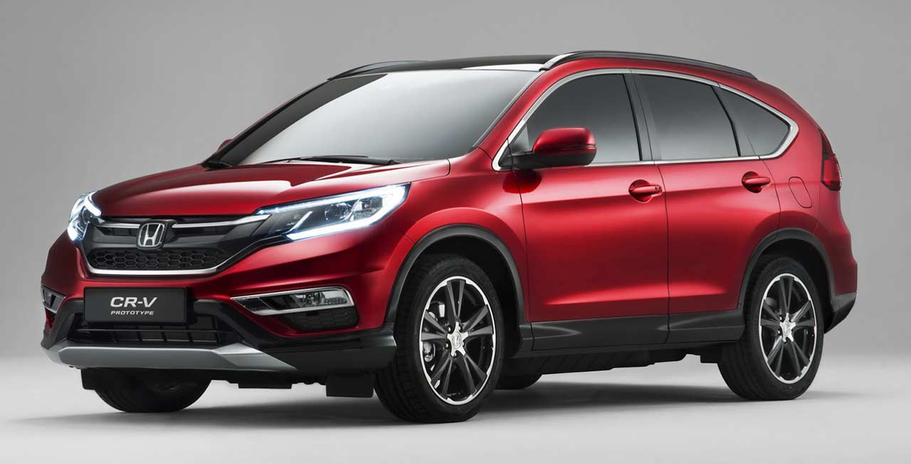 Honda CR-V Facelift 2015 Photos and Pictures Gallery