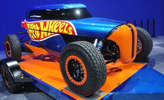 HotWheels Rip Rod at SEMA Show 2013