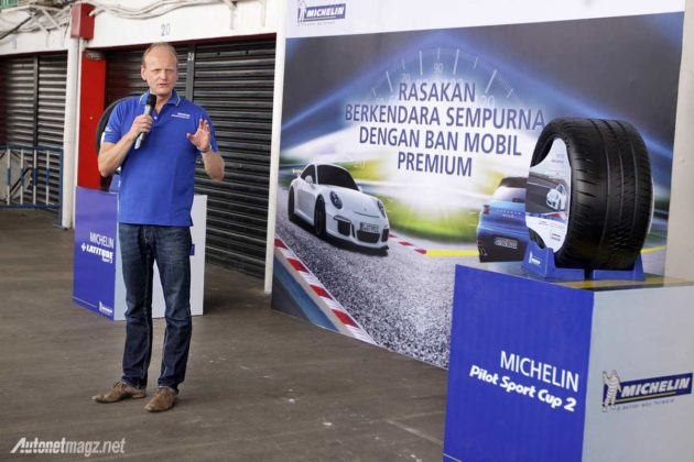 Jean Charles Simon Country Director PT Michelin Indonesia ban premium sport