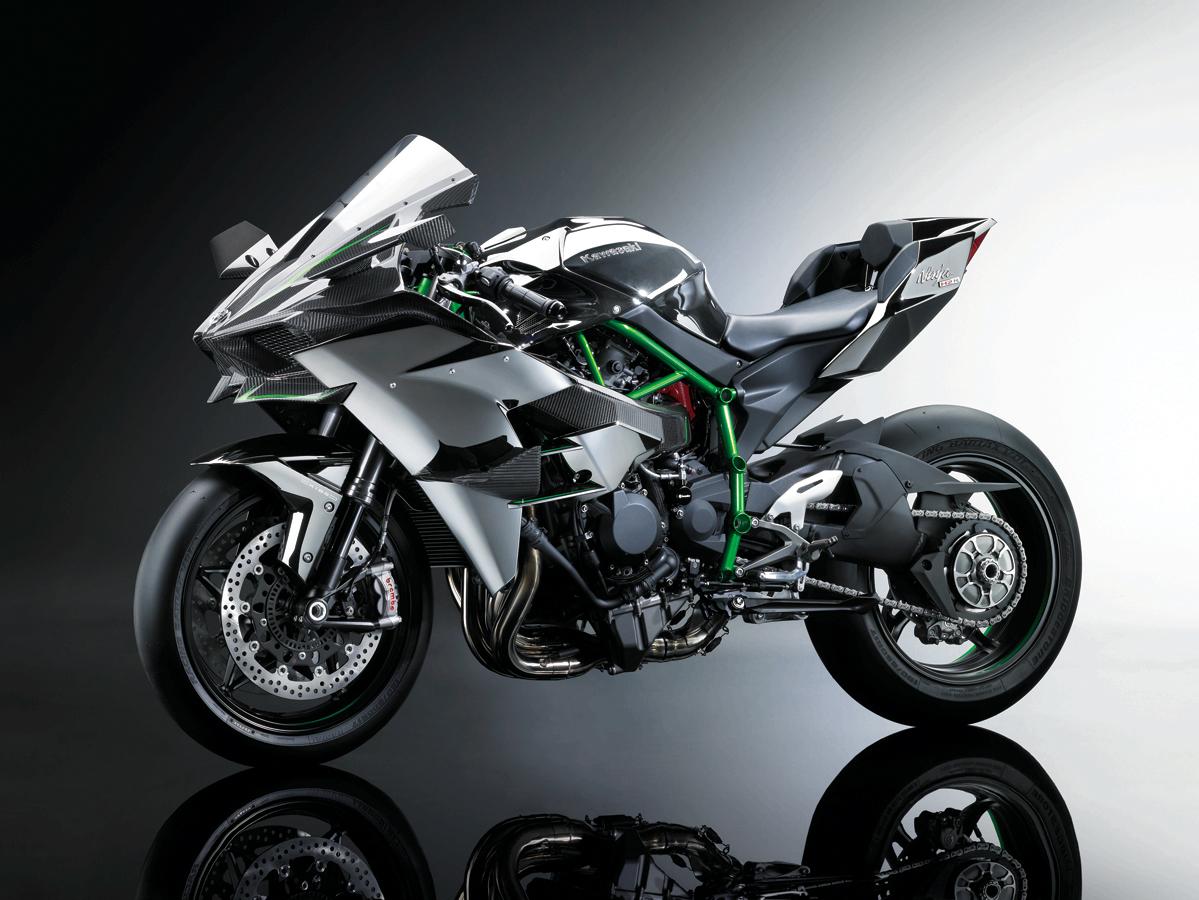 International, Kawasaki Ninja H2 Pictures: Kawasaki Ninja H2R Mulai Diperkenalkan ke Publik