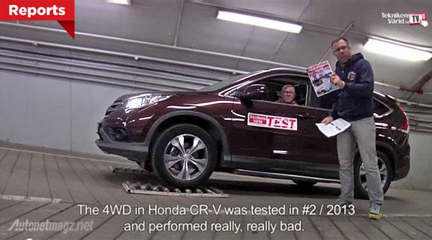 Kekurangan Honda CR-V AWD