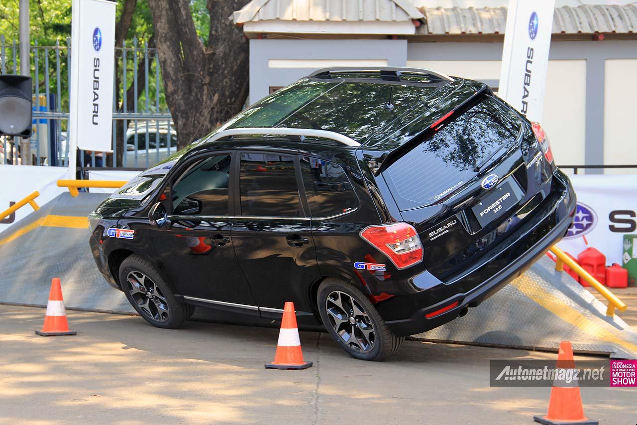Kelebihan test drive mobil SUV Subaru Forester Indonesia
