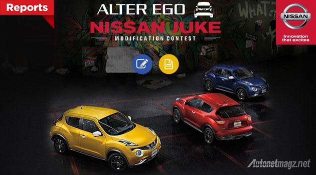 Kontes modifikasi Nissan Juke baru 2015 Alter Ego