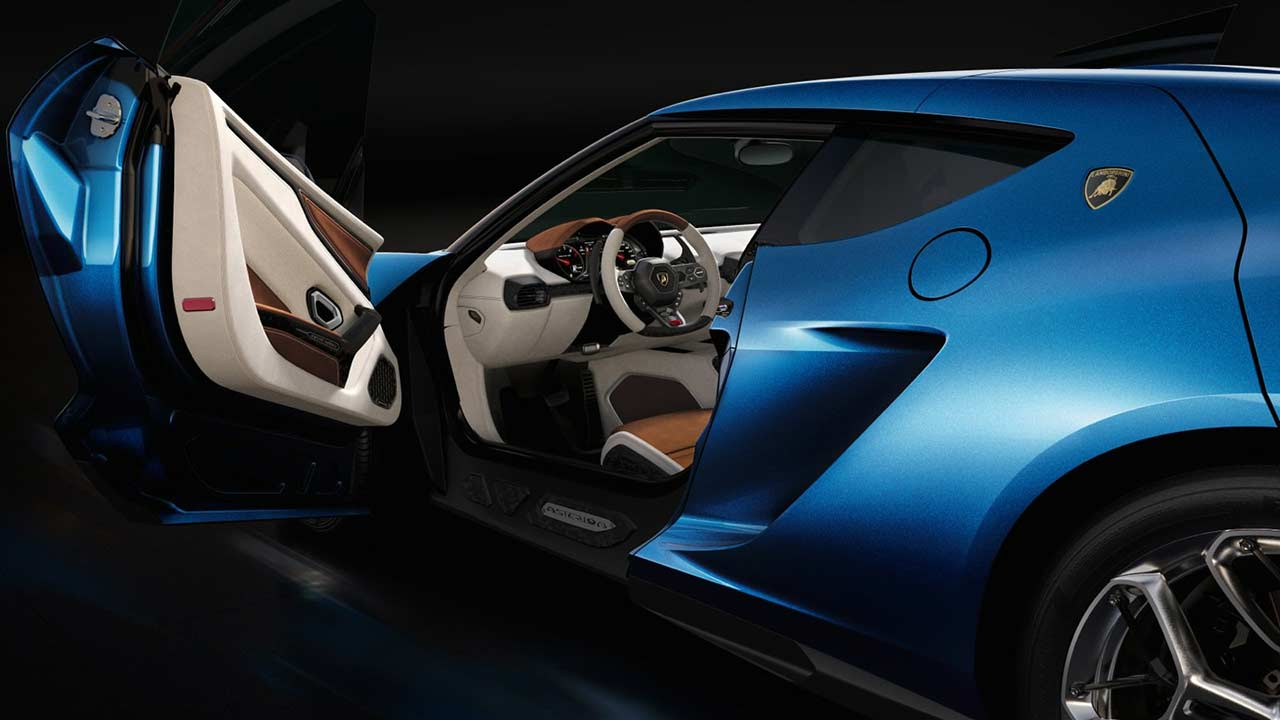 International, Lamborghini Asterion Door Opening: Lamborghini Asterion LPI 910-4 Hadir Dengan Mesin Hybrid