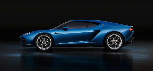 Lamborghini Asterion Hybrid Supercar