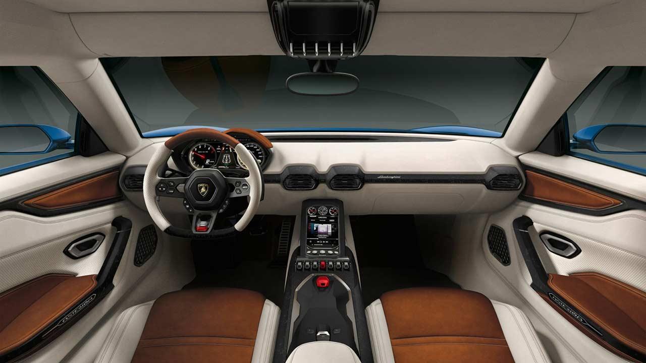 International, Lamborghini Asterion Interior and Dashboard Pictures: Lamborghini Asterion LPI 910-4 Hadir Dengan Mesin Hybrid