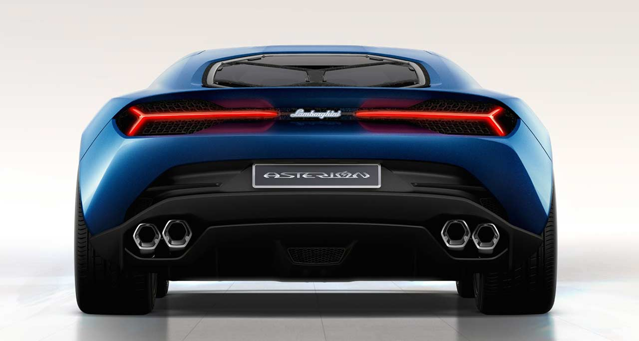 International, Lamborghini Asterion Rear End: Lamborghini Asterion LPI 910-4 Hadir Dengan Mesin Hybrid