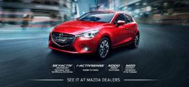 Launching resmi Mazda2 SkyActiv All New Mazda 2 baru 2015